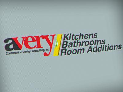 Avery Construction logos marketing logo design graphic design illustration
