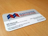 Business Card Design Mantooth