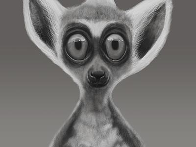Lemur design digital art