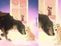 Heaven dogs