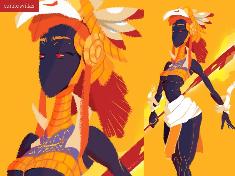 The heiress of the Egyptian god egyptiangoddess characterdesign god egytian