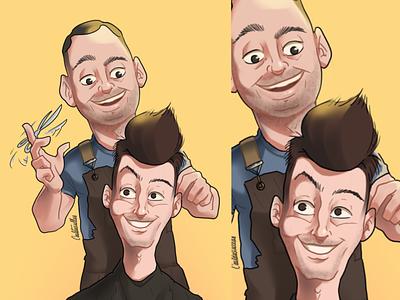 Barber shop commission