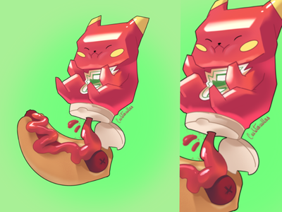 Pikatsup pikachu ketchup
