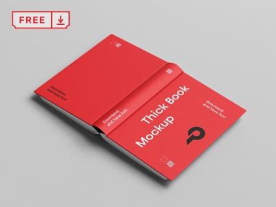 Free Cover Book Mockup freebie logo book cover download psd template typography mockups illustration design font print