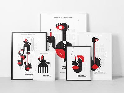 Poster Frames Mockup poster frame stationery identity bundle canvas artwork branding download template illustration typography print mockups psd
