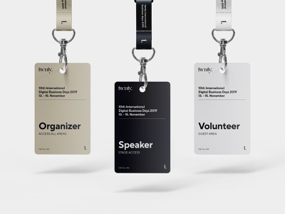 Free Hanging ID Card Mockup. mockup psd typography design mockups template identity branding id card free download