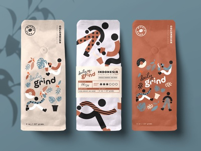 Free Coffee Bags Mockups bags typography design mockups template coffee branding identity psd free download