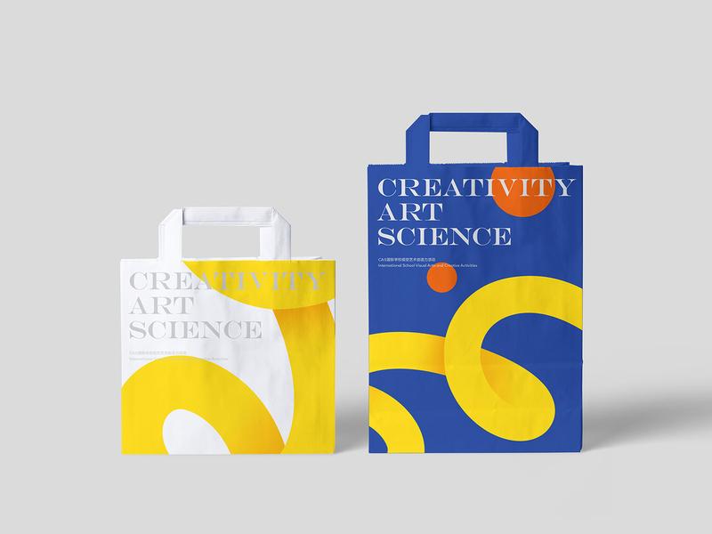 Free Paper Bag PSD Mockup mockup font typography mockups design print paper bag identity branding free download