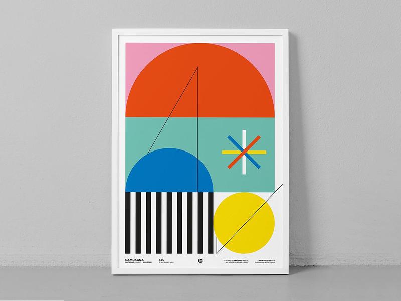 Poster Frame Mockup poster frame stationery identity bundle canvas artwork branding download template illustration typography print mockups psd