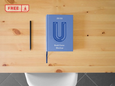 Hard Book Cover Mockup mockup print design template typography cover book freebie identity psd free download