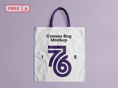 Free Canvas Tote Bag Mockup stationery logo design typography identity branding bag canvas psd free download