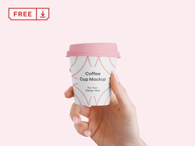 Free Small Coffee Cup Mockup mockup typography template design logo branding identity cafe coffee cup psd free download