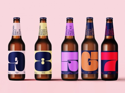 Beer Bottles Mockup mockup font print logo design psd identity branding freebie beer free download