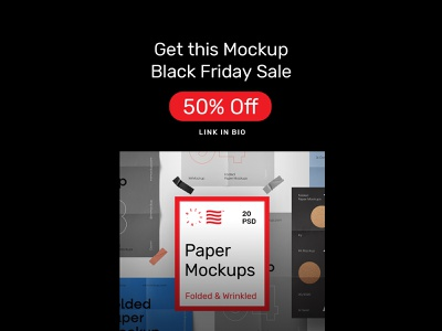 Folded Paper Mockups illustration mockup bundle design print template identity paper folded paper psd download
