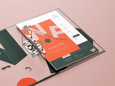 Free Perspective Binder Mockup illustration mockup design stationery template typography branding identity binder psd download