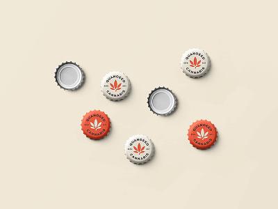 Beer Cap Mockup mockup logo design freebie cap capsel beer branding identity free psd download