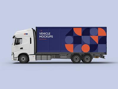 Vehicle Mockups Premade Scene logotype mockups logo mockup bundle design branding identity vehicle psd download