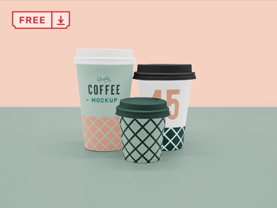 Free Scene Coffee Cup Mockup typography mockup design logo branding cafe coffee cup cup identity free psd download