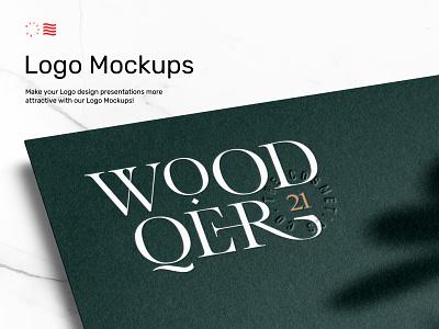 Logo Mockups icon corporate bundle print font template logotype typography download mockup identity stationery branding logo psd design