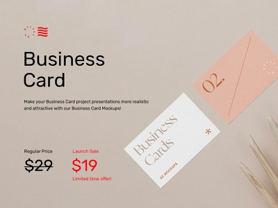 Business Card Mockups Vol.1 icon corporate bundle print font template logotype businesscard typography download mockup identity stationery branding logo psd design