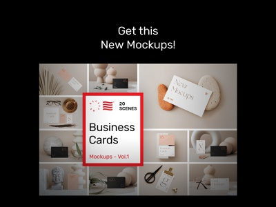 Business Card Mockups Vol.1 PSD Scenes icon corporate bundle print font template logotype businesscard typography download mockup identity stationery branding logo psd design