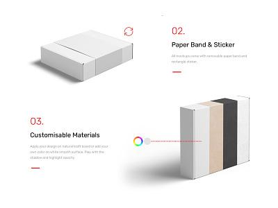 Box Mockups packaging mockups mockup box design logo typography branding identity psd download