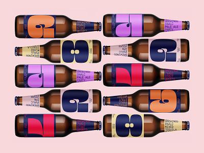 Free Beer Bottles Mockup free mockup beer glass bottle design logo template branding identity psd download