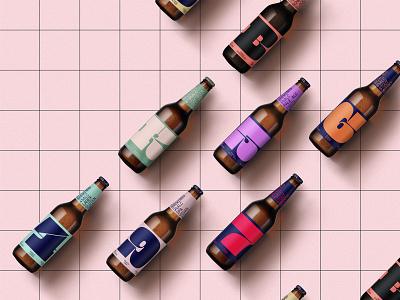 Free Beer Bottles Mockup beverages beer mockups mockup freebie free bottle design logo typography branding psd identity download