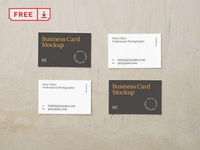 Free Scattered Business Card Mockup businesscards corporate design logo template typography branding identity psd download freebie free