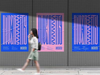 Glued Poster Mockups paper