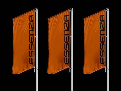 Free Flag PSD Mockup freebie mockups mockup flag design logo template typography branding identity psd download