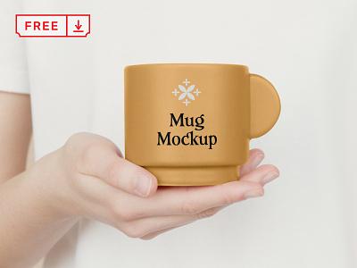 Free Ceramic Mug PSD Mockup mockups mockup freebie free coffee ceramic mug illustration design logo template typography branding identity psd download
