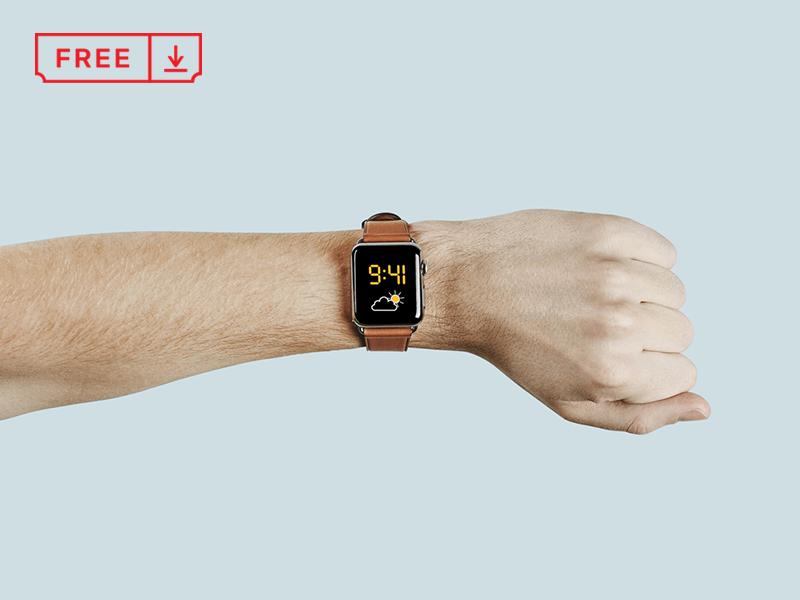Apple watch mockup dribbble 800