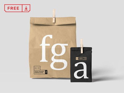 Paper Bag Mockups branding paperbags download free freebie identity mockups psd stationery typography food bags