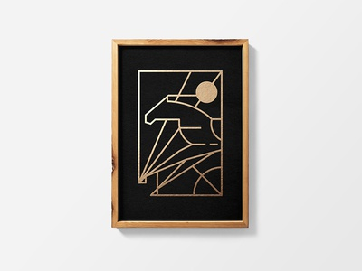 Poster Wood Frame Mockup by Mr.Mockup™ - Dribbble