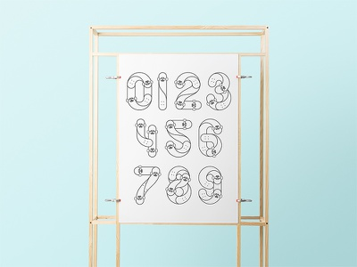 Wood Stand Poster Mockup typography template stationery psd print mockups logo identity frame font download branding