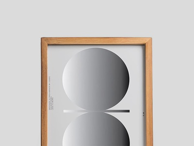 Poster Wood Frame Mockup typography template stationery psd print mockups logo identity frame font download branding