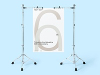 Stand Mockup - Poster