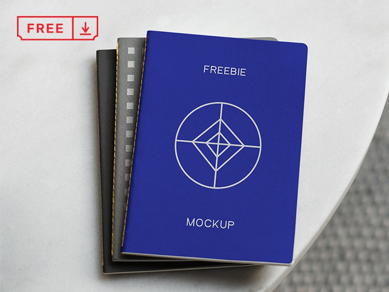 Notebook Psd Mockup paper typography notebook branding download free freebie identity mockups psd stationery