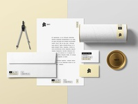 Corporate Stationery Premade Scene