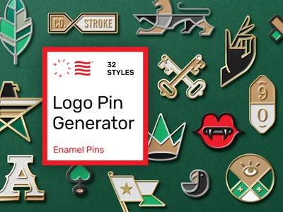 Logo Enamel Pin Mockup corporate logotype bundle template illustration stationery icon mockups logo typography download psd branding identity