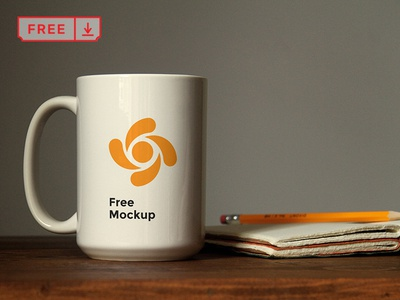 Mug Mockup On Table