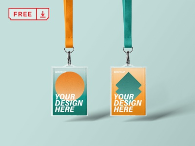 Id Holder Mockup leash holder id freebie icon bundle font template logotype typography download mockup identity psd design branding free brand