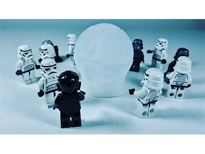 Empire Ice Party photography toy photography death star star wars instagram stormtrooper lego