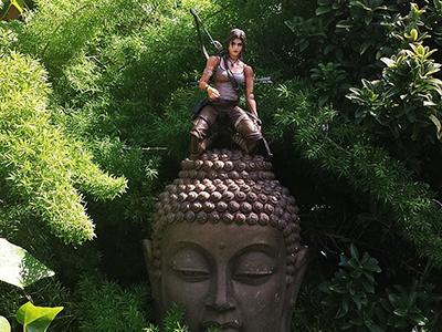 Tomb Raider toy photography tomb raider lara croft instagram photography