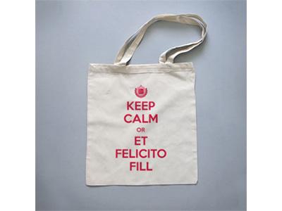 #etfelicitofill.cat Merchandising tote bag keep calm typography merchandising