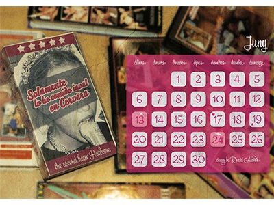 Ain't a porn calendar typography photography photoshop design graphic calendar porn