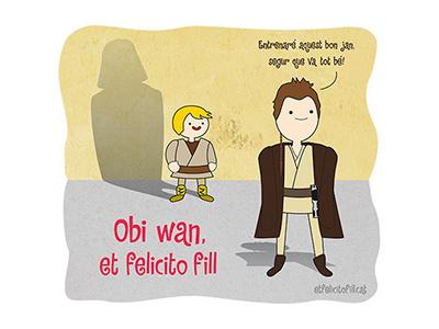 #etfelicitofill Obi Wan illustration time adventure wars star kenobi wan obi skywalker anakin