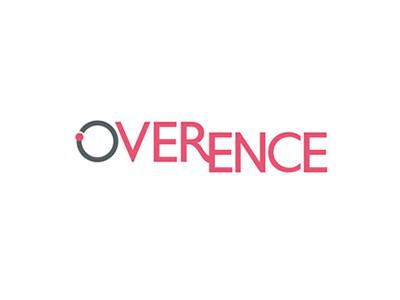 Overence naming & logo branding logo naming