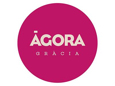 Agora Gràcia branding art direction logo branding
